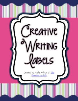 FREE Creative Writing Labels