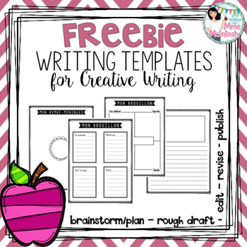 FREE Creative Writing Templates / Gabarits GRATUITS pour l