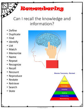 FREE Critical Thinking Posters - Bloom's Revised Taxonomy