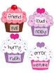 FREE Cupcake Love Synonym Practice