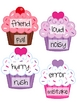 FREE Cupcake Love Synonym Practice