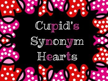 FREE Cupid's Synonym Hearts