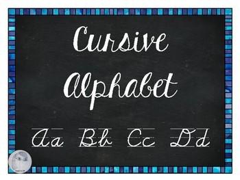 FREE Cursive Alphabet