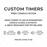 FREE Custom Countdown Timer Consultation