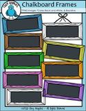 FREE Chalkboard Frames - Chirp Graphics