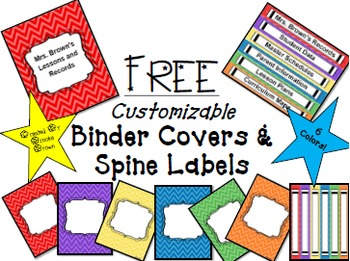 3 ring binder label template