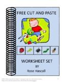 FREE Cut and Paste Worksheet Sample Set