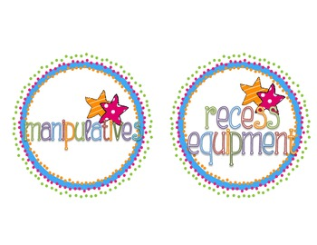 Cute Classroom Circle Labels