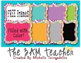 FREE: Cute Color-Filled Text Frames