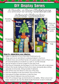 FREE DIY Display Series Book Advent Calendar
