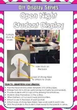 FREE DIY Display Series Open Night Student Display