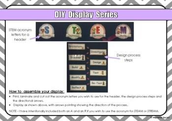 FREE DIY Display Series - STEM and the Design Process
