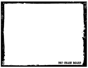 {FREE} DIY Dry-Erase Board