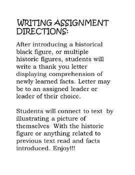 FREE DOK-3 Black History Writing Frame