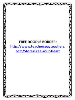 FREE PAGE BORDER AND FRAME BY FREE YOUR HEART GRAPHICS