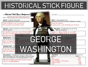 FREE DOWNLOAD: George Washington Historical Stick Figure