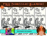 Thanksgiving Coloring Bookmarks