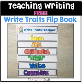 Write Traits Flipbook {FREE}