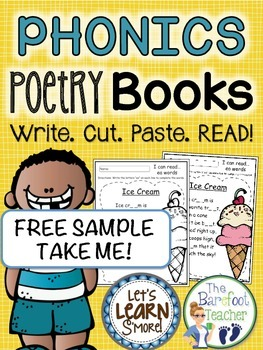 FREE DOWNLOAD - Phonics Poetry Book Pages