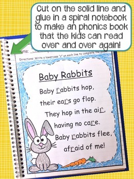 FREE DOWNLOAD - Alphabet Poetry Book Pages
