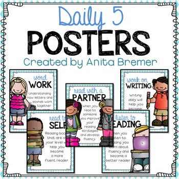 {FREE} Daily 5 Posters