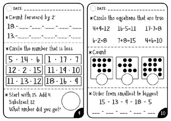 FREE - Daily Math Warm-Up