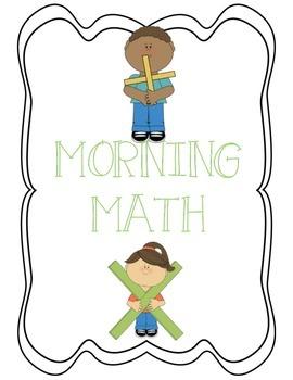 FREE Daily Morning Math Activity