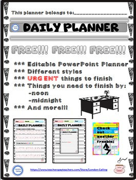 FREE Daily Planner #02