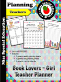 FREE - Daily Planner -Teachers and School Staff - English