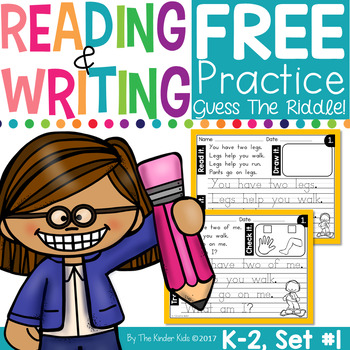FREE Daily Reading & Printing Practice