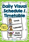 FREE Daily Visual Schedule / Timetable