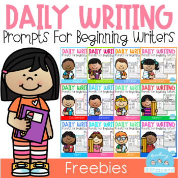 FREE Daily Writing Prompts for Beginning Writers