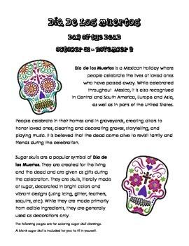 FREE: Day of the Dead (Día de los Muertos) Sugar Skull Doo