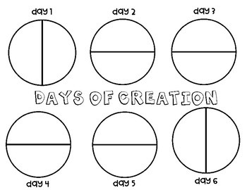 FREE Days of Creation Activities