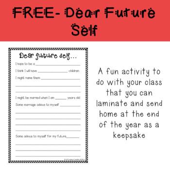 FREE- Dear Future Self