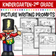 FREE December Writing Prompts for Kindergarten to Second Grade
