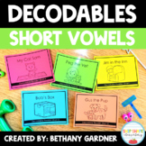 FREE Decodable Books - Short Vowels - Printable