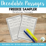 Orton-Gillingham Activities: FREE Decodable Passages Prefixes and Suffixes