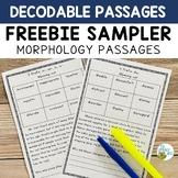 Orton-Gillingham Activities: FREE Decodable Passages Prefi