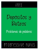 FREE Deposits and Withdrawals (Spanish)