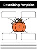 FREE Describing Pumpkins Page