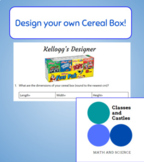 FREE Design Your Own Cereal Box! Surface Area and Volume i