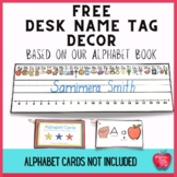 FREE Back to School Desk Name Tag