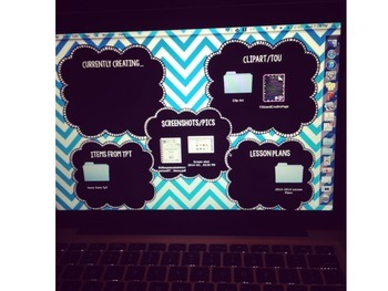 FREE Desktop Organization Background