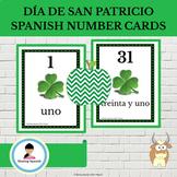FREE Día de San Patricio (St. Patrick's Day) Spanish Numbe