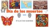 FREE Dia de los muertos presentation