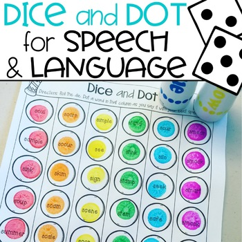 Dice and Dot for Speech and Language - Free