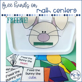 FREE Differentiated Hands-On Math Centers