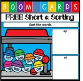 FREE Digital Activity - Short a Sorting - Boom Cards {Dist