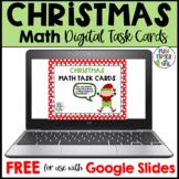FREE Digital Christmas Math Task Cards for Google Distance